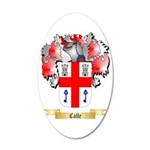 Calle 35x21 Oval Wall Decal