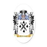 Callaway Oval Car Magnet