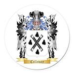 Callaway Round Car Magnet