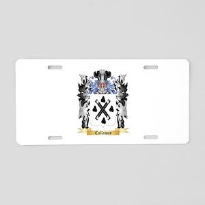 Callaway Aluminum License Plate