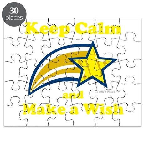 Keep Calm and Make a Wish Puzzle