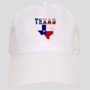 Flag Map With Texas Cap
