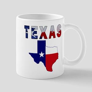 Flag Map With Texas Mug