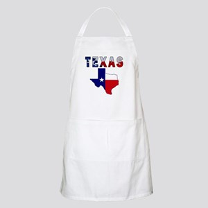Flag Map With Texas Apron