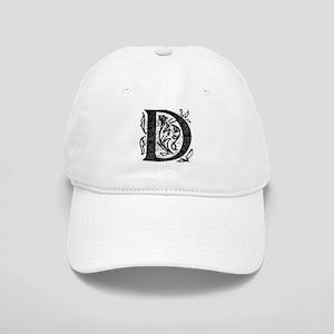Fancy Monogram D Cap
