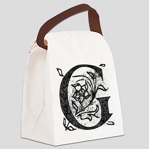 Fancy Monogram G Canvas Lunch Bag
