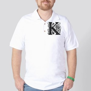 Fancy Monogram K Golf Shirt