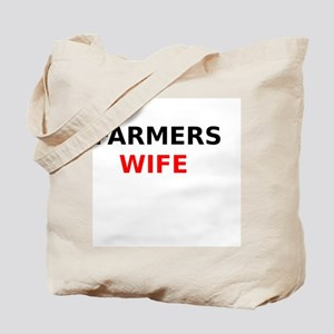 Farmers Wife Tote Bag