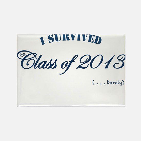 I survived the Class of 2013 Rectangle Magnet