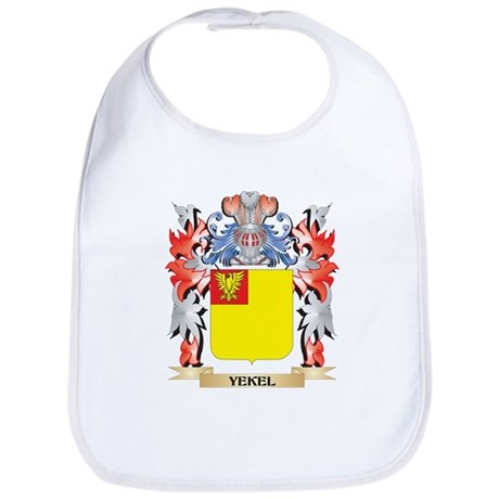 Yekel Coat of Arms - Family Crest Baby Bib