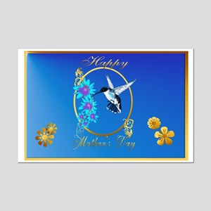 Mothers Day with humming birds Posters