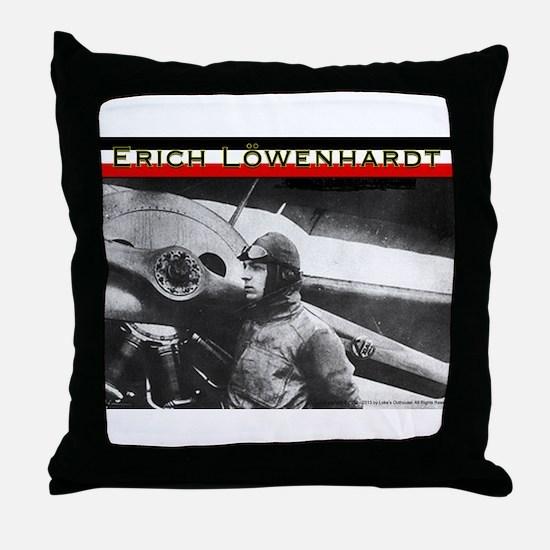 Erich Löwenhardt Throw Pillow