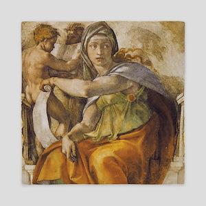 Michelangelo Delphic Sibyl Queen Duvet