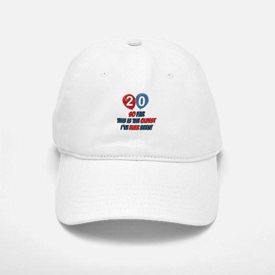 Gifts for the individual turning 20 Baseball Baseball Cap