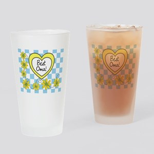 Best Oma Yellow Drinking Glass