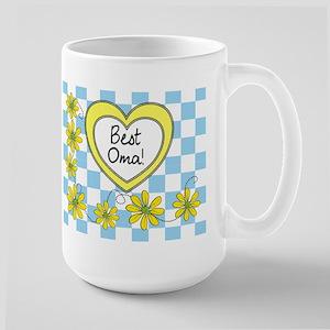 Best Oma Yellow Mug