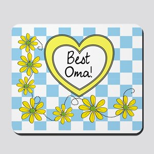 Best Oma Yellow Mousepad