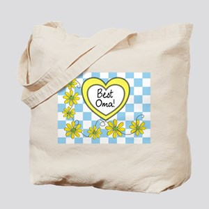 Best Oma Yellow Tote Bag