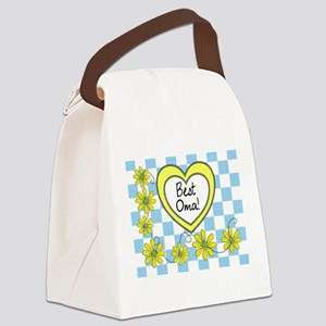 Best Oma Yellow Canvas Lunch Bag