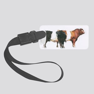 Belties, 2006 @charcoal - Small Luggage Tag
