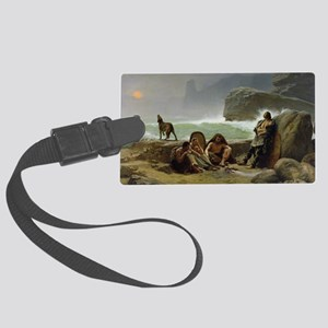 @oil on canvasA - Large Luggage Tag