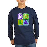 New Orleans NOLA Long Sleeve Dark T-Shirt
