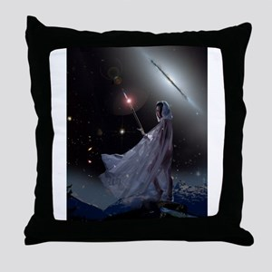 The Witch Queen Throw Pillow