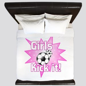 Girls Kick It King Duvet