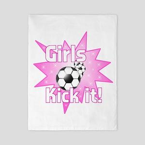 Girls Kick It Twin Duvet
