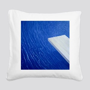 A - Square Canvas Pillow