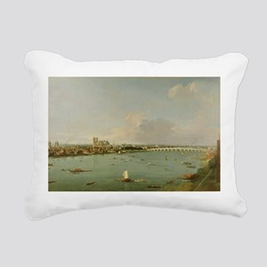 m South of the River - Rectangular Canvas Pillow