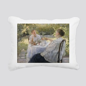 il on canvasA - Rectangular Canvas Pillow