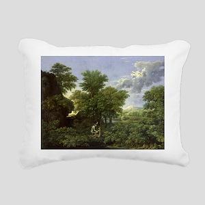 of Eden @oil on canvasA - Rectangular Canvas Pillo