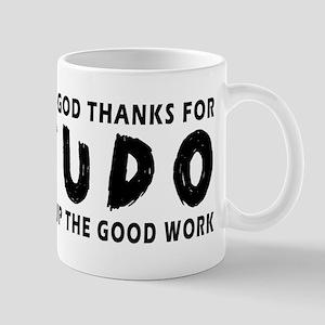 Dear God Thanks For Judo Mug