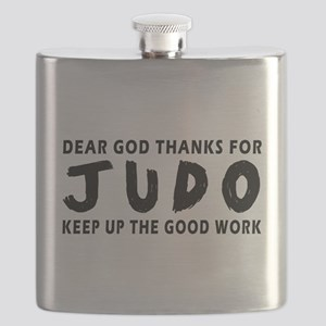 Dear God Thanks For Judo Flask