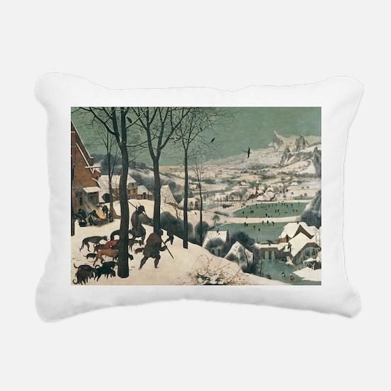 january, 1565 - Rectangular Canvas Pillow