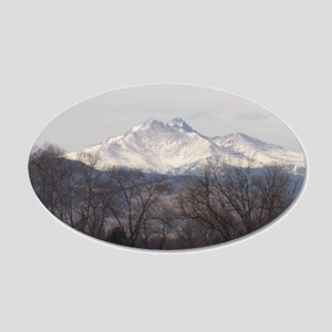Fall on the Mountain Wall Decal