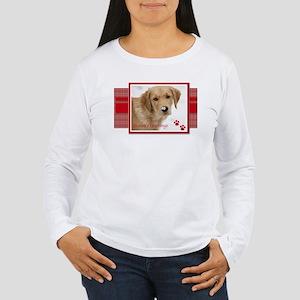 Golden Christmas Women's Long Sleeve T-Shirt