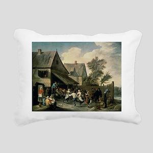 n canvasA - Rectangular Canvas Pillow