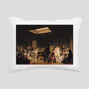 807 @oil on canvasA - Rectangular Canvas Pillow