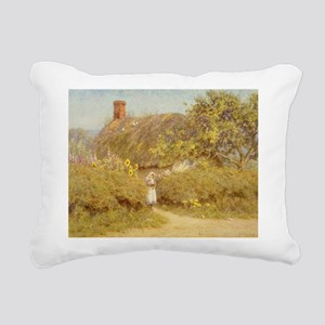 on paperA - Rectangular Canvas Pillow