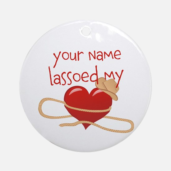 Lasso My Heart Ornament (Round)