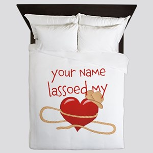 Lasso My Heart Queen Duvet