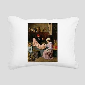 elA - Rectangular Canvas Pillow