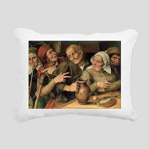 panelA - Rectangular Canvas Pillow