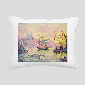 , 1907 @oil on canvasA - Rectangular Canvas Pillow