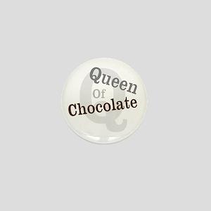Queen of Chocolate Mini Button
