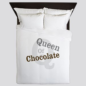 Queen of Chocolate Queen Duvet