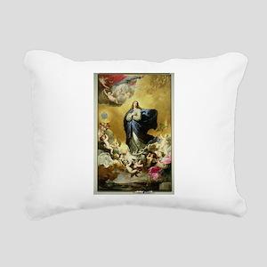 1635 @oil on canvasA - Rectangular Canvas Pillow
