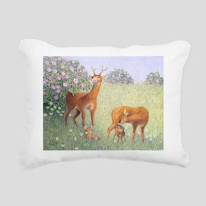 nvasA - Rectangular Canvas Pillow